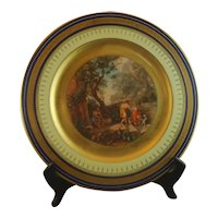 Royal Vienna Hand Painted Signed Cabinet Plate Odysseus and Telemacos