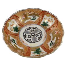 Meiji Period Japanese Imari Bowl