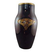 Mougin Nancy Art Deco Vase, circa 1910