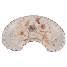 Gorgeous Royal Crown Derby Crescent Serving Bowl Dated 1889