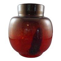 Italian Murano Art Glass Vase, Attributed to Carlo Scarpa with Provenance