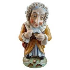 Porcelain Figure of a Dwarf Peasant Woman