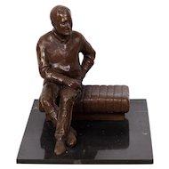 Bronze Maquette of Franklin Delano Roosevelt, Martin Dawe