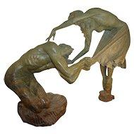 "Richard MacDonald Bronze, ""Romeo & Juliet"", 1/3 Life"