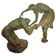 "Richard MacDonald Bronze, ""Romeo & Juliet"", 1/3 Life"