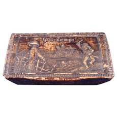 19th Century Dutch Tobacco Snuff Box