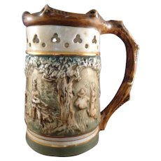 Royal Dux Relief Puzzle Jug