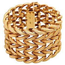 18KT Yellow Gold BUCCELLATI 1990s Chain Bracelet