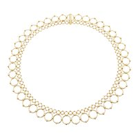 A Vintage 18KT Yellow Gold Handmade Tiffany & Co Necklace