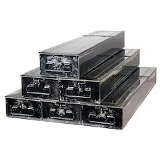 Metal Safety Deposit Boxes / Banker's Boxes - quantity available