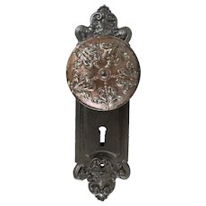 "Sargent and Co. Cast Iron ""TG"" Knob Sets"