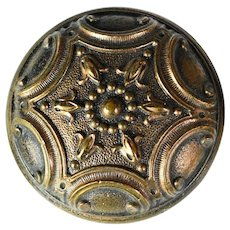 Brass Doorknob with 'Norma' pattern - quantity available