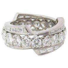 1950's Platinum And Diamond Eternity Band Ring