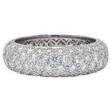Tiffany & Co. Contemporary 3.00 CTW Diamond Platinum Etoile Eternity Band