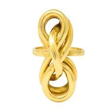 Tiffany & Co. Vintage 18 Karat Yellow Gold Twisted Ring