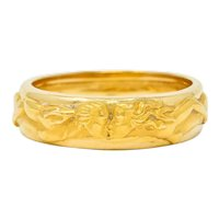 Carrera Y Carrera 18 Karat Yellow Gold 6.5 MM Promesa Unisex Band Ring