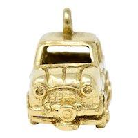 Retro 14 Karat Gold Car Charm Circa 1940