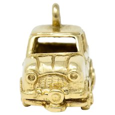 Retro 14 Karat Gold Car Charm Circa 1940