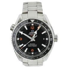 Omega Seamaster Planet Ocean Chronometer GMT 43.5 MM Stainless Steel Men's Watch 232.30.44.22.01.002