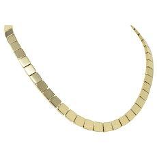 Tiffany & Co. Italy 18 Karat Gold Necklace