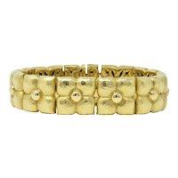 Paloma Picasso Tiffany & Co. 18 Karat Gold Bracelet With Pouch