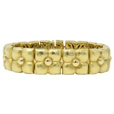 Paloma Picasso Tiffany & Co. 18 Karat Gold Bracelet With Pouch