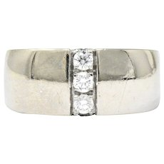 Mauboussin Paris 0.35 CTW Diamond 18 Karat White Gold Ring