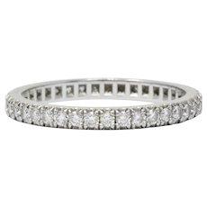 Tiffany & Co. 0.40 CTW Diamond Platinum Eternity Band Ring