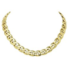 Bulgari Contemporary 18 Karat Gold Chain Bvlgari Necklace