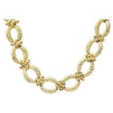 Chic 14K Gold Necklace & Bracelet Combo