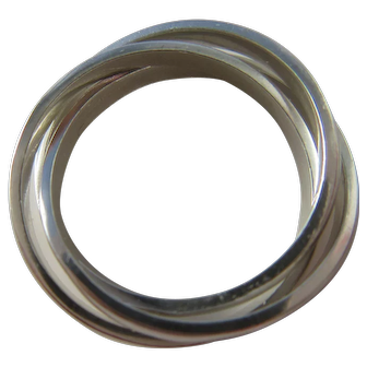 Handmade Sterling Silver Rolling Band