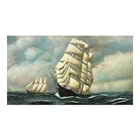 Antonio Jacobsen ship E. J. Spicer