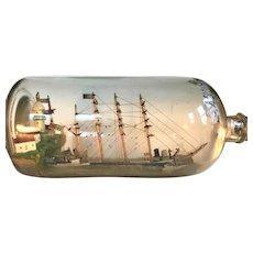 Ship in Bottle American