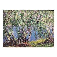 Oil on Board by Harry L. Hoffman, CT Impressionist