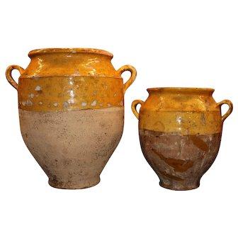 19th Century Confit Pot Set