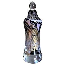 Toland Sand Perfume Bottle Vintage Blown Glass, Art Glass - VERY RARE!!