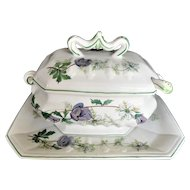NOVE ITALY Tureen W/ Underplate & Ladle