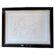 Henri Matisse Lithograph or Print Sleeping Model