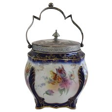 Royal Doulton Vintage Biscuit Barrel circa 1922