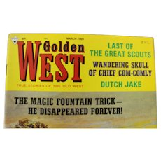 Six Golden West Magazines 1969 editions