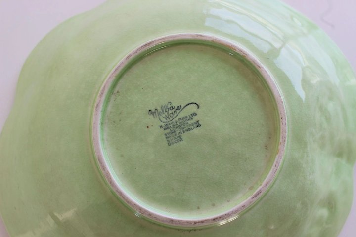 Melba Ware Bowl By H Wain Sons Stoke On Trent England Antique