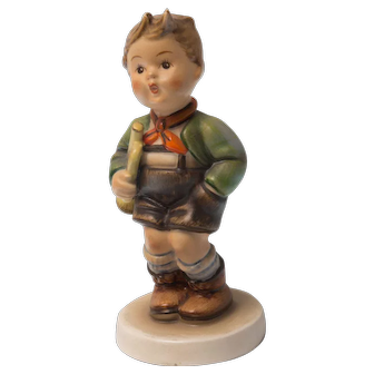 Early 20th Century Hummel Figurine -  Trumpet Boy #97 Very Good condition - From Family Estate