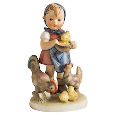 Early 20th Century Hummel Figurine - Feeding Time # 199 Excellent Condition - From Family Estate