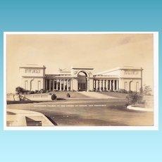 1930s San Francisco Vintage RPPC Real Photo Postcard - California Palace of the Legion of Honor – Art Museum – Vintage Unused