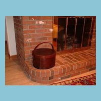 Vintage Shaker Society 15-inch Pantry Box And Cover - Sabbathday Lake, Maine Shaker Community