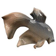 Vintage Royal Copenhagen Porcelain Fantail Fish   #3064