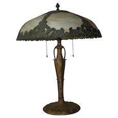 Art. Nouveau EM&Co lamp