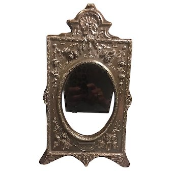 Exceptional silver picture frame with M&LS 800 mark
