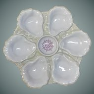19th Century, Oyster Plate
