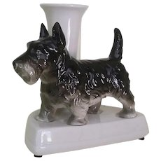 Vintage Scottie Dog, Jardiniere ~ Vase